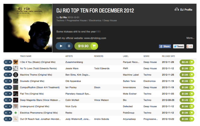 beatport dec