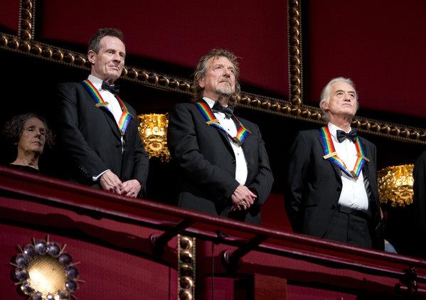 John Paul Jones, Jimmy Page, Robert Plant