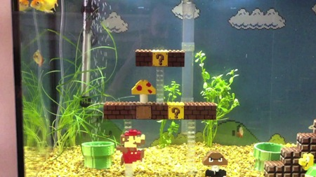 super-mario-scene-fish-tank-aquarium-1