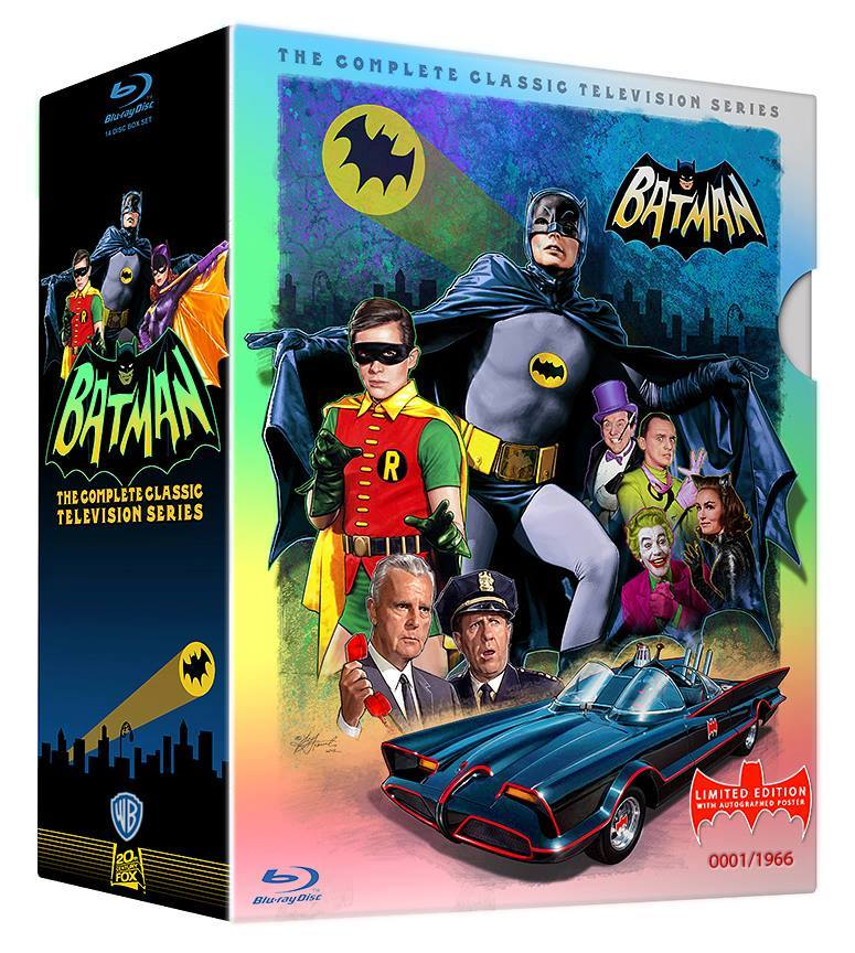 Batman The Complete TV Series Limited Edition Blu ray