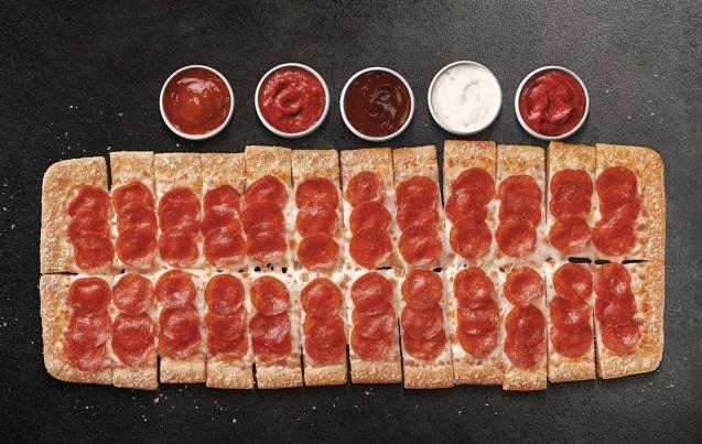 Pizza Hut Big Flavor Dipper Pizza (PRNewsFoto/Pizza Hut)