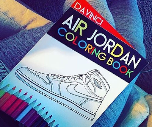Start Your Kids Off Early With The Air Jordan Coloring Book Djrioblog